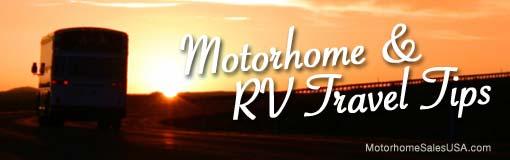 Motorhome Travel Tips